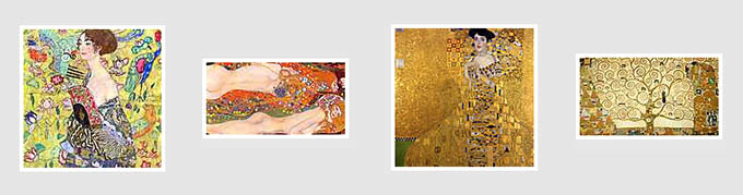 Klimt híres képei