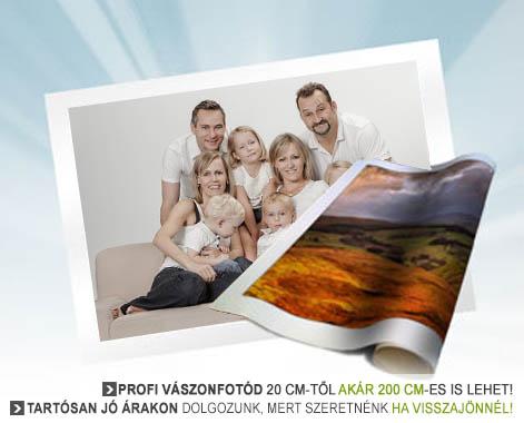 459966c45a Vászonfotó, vászonposzter nyomtatás fényképből : KÉPÁRUHÁZ.HU ...