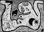 Paul Klee: A woman for Gods - színverzió 1. (id: 12100)