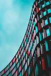 Partner Kollekció: Londoni színes épület - művészfotó (id: 16800) poszter