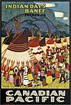 Indian Days Banff - Canadian Pacific (id: 1700) falikép keretezve