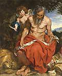 Anthony van Dyck : Szent Jeromos (id: 19500) tapéta