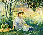 Berthe Morisot: A narancsfa alatt (id: 2001) tapéta