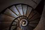 Csigalépcső (id: 18102) falikép keretezve