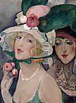 Gerda Wegener: Kalapos hölgyek portréja (id: 18202)