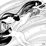 Gustav Klimt: Halvér 2., (1898) (id: 3902) tapéta