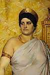 Peder Severin Kroyer: Valeria Messalina (részlet) - színverzió 1. (id: 4002) vászonkép