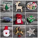 Karácsonyi dekoráció Kollázs: karácsonyi dekoráció (id: 5002) bögre