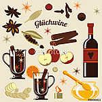 Összetevők forralt borhoz. (id: 7102) poszter