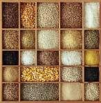 Gabonafélék fából készült dobozban (id: 10703) tapéta