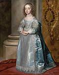 Mária hercegnő, I. Károly angol király lánya (id: 19503) többrészes vászonkép