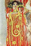 Gustav Klimt: Medicine és  Hygeia (id: 19803) vászonkép