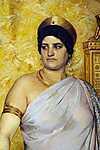 Peder Severin Kroyer: Valeria Messalina (részlet) - színverzió 2. (id: 4003) vászonkép