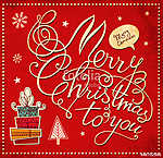 Vintage karácsonyi köszöntés (id: 11904)