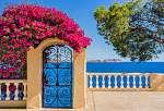 Idyllic view to Mediterranean Sea Coast (id: 13904) vászonkép
