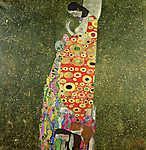 Gustav Klimt: Remény II (színverzió 1) (id: 19804) tapéta