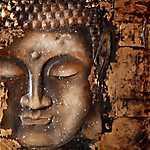 Bronz Buddha (id: 3604) vászonkép óra