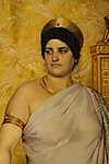 Peder Severin Kroyer: Valeria Messalina (részlet) (id: 4004) falikép keretezve