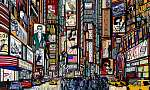 utca New York-i városban (id: 5104) tapéta