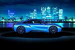 BMW i8 Blue by Night (id: 16305) vászonkép óra