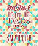 Anyák napi üdvözlőlapja (id: 10106) többrészes vászonkép