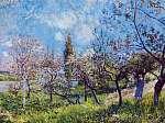 Gyümölcsös tavasszal (id: 20606) vászonkép
