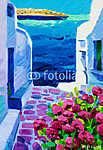 Santorini kilátás (id: 4406) tapéta