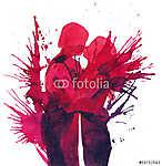 hot kiss (id: 5606) vászonkép