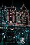 Partner Kollekció: London fényei, Harrods áruház (id: 14307) vászonkép