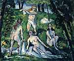 Paul Cézanne: Fürdőzők (id: 407)