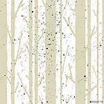 Fák zökkenőmentes minta (id: 7207) poszter