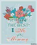 Anyák napi üdvözlőlapja (id: 10108) bögre