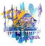 Istanbul (id: 10308) többrészes vászonkép