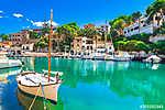 Spanien Mittelmeer Küste, Insel Mallorca Bucht Cala Figuera, San (id: 13908) poszter