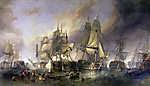 A trafalgari csata (színverzió 1.)  (id: 18108) poszter