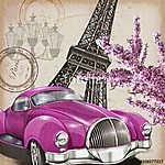 Paris vintage poster. (id: 19208)