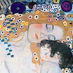 Mary Cassatt: Anya és gyermek (színverzió 1.) (id: 19808) vászonkép