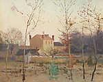 Ősz a  város szélén (id: 20008) falikép keretezve