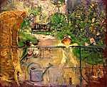 Berthe Morisot: Kerti fotel (id: 2008) tapéta