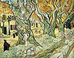 Camille Pissarro: Útkaparók (id: 2908) vászonkép óra