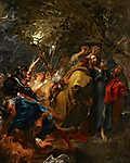 Anthony van Dyck : Krisztus elárulása (id: 19509) vászonkép óra