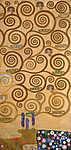 Gustav Klimt: Stoclet fríz részlet (id: 19809) vászonkép óra
