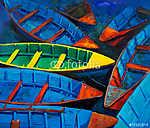 Csónakok napnyugtakor (id: 4309)