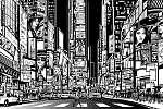 New York-i város éjjel (id: 5109) poszter