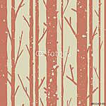 Fák zökkenőmentes minta (id: 7209) poszter