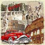 Rome vintage poster. (id: 19210)