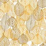 Autumnal leaves seamless pattern (id: 14211) vászonkép