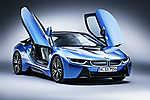 BMW i8 Blue Photo RF (id: 16311)