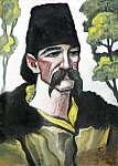 Scheiber Hugó: Kucsmás férfi (id: 21411) poszter