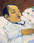 Paul Gauguin: Atiti (1891) (id: 3911) vászonkép